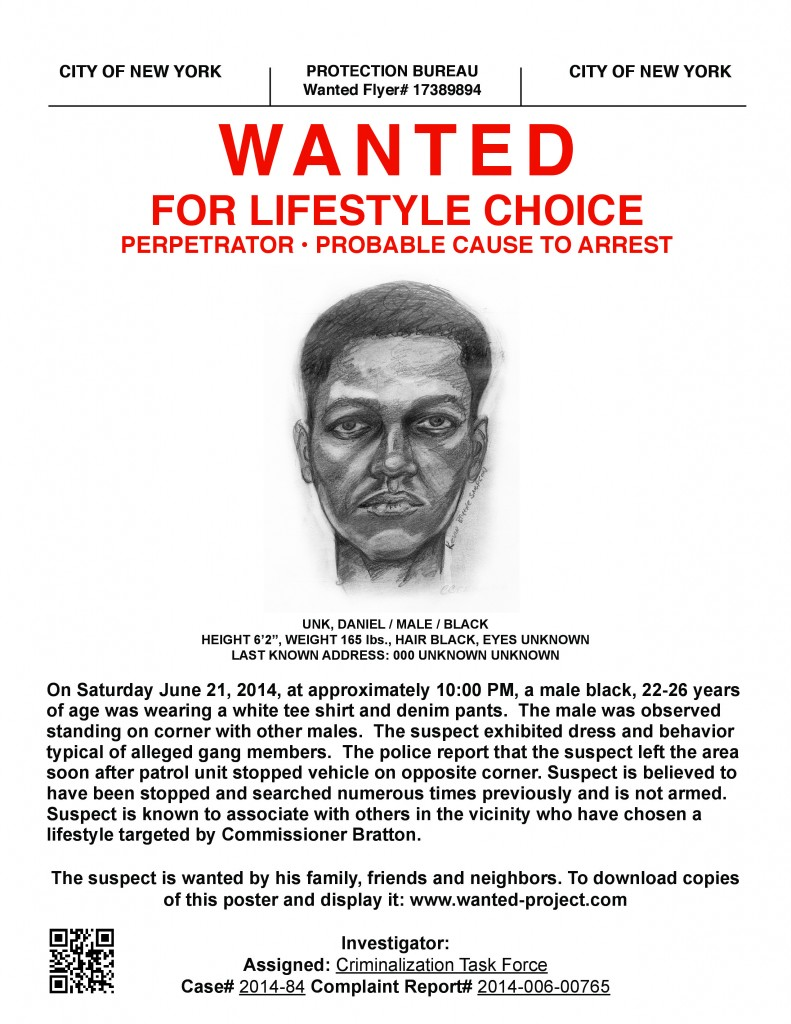 2014-08-14-WantedMockPoliceSketch_Courtesy_DreadScott