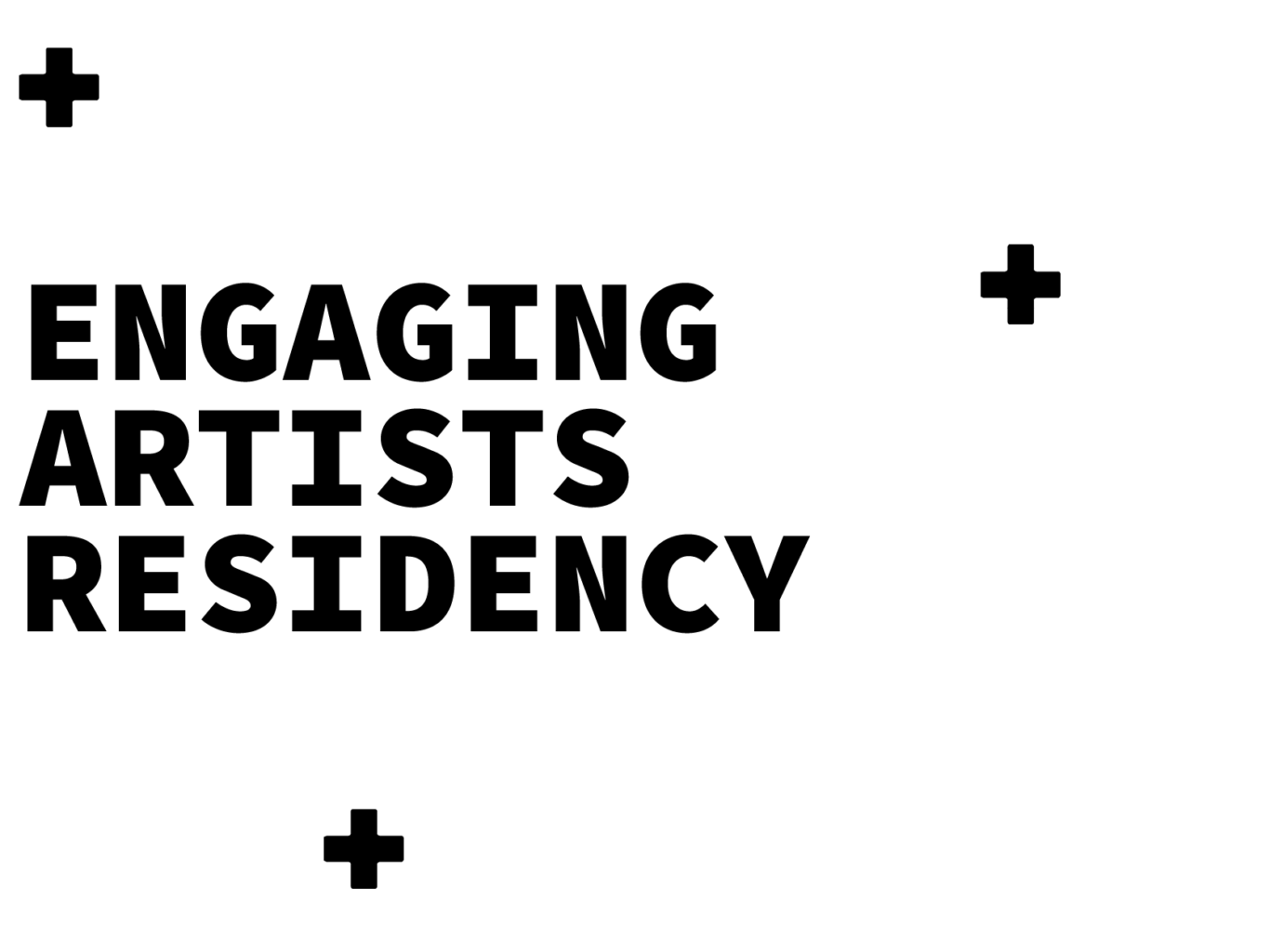 Engaging Artists Residency title text